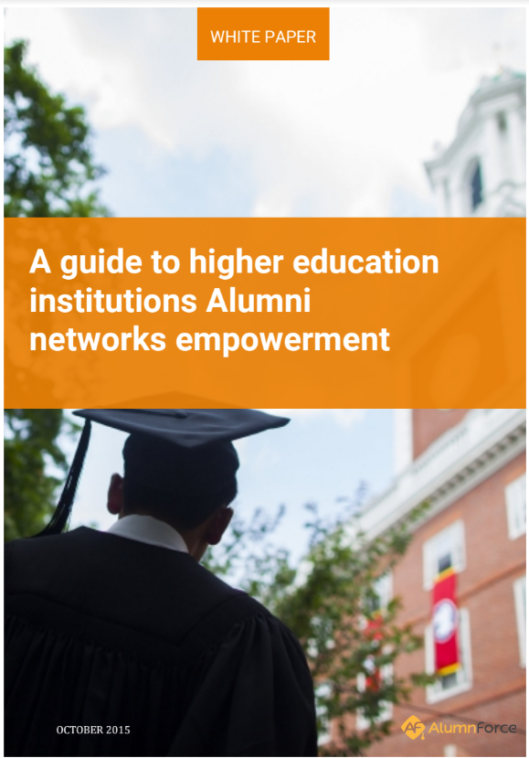 White Paper: How to capitalize and empower higher education Alumni networks?