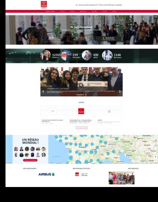 Universite Toulouse Capitole AlumnForce Career Center