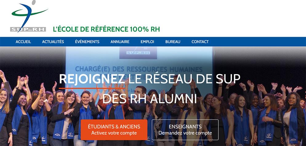Visitez Sup des RH Alumni, le réseau 100% RH