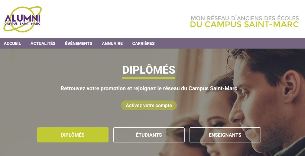 Les diplômés du réseau Saint Marc Alumni déploie leur plateforme alumni en ligne