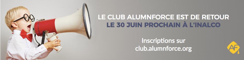 Rendez-vous le 30 juin à l'Inalco pour la 6ème édition du Club AlumnForce !
