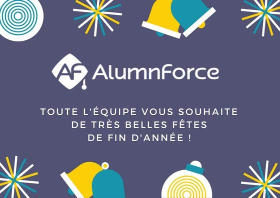 AlumnForce's team wishes you a happy holiday season!