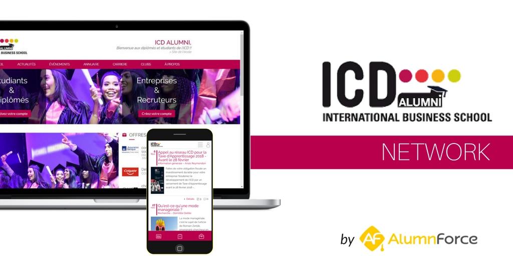 L'ICD lance son réseau d'alumni à l'international avec AlumnForce !