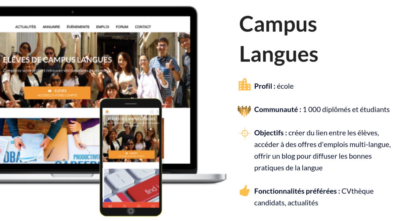 Réseau alumni Campus Langues Paris