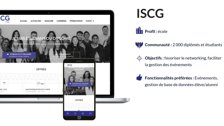 Réseau Alumni de l'ISCG