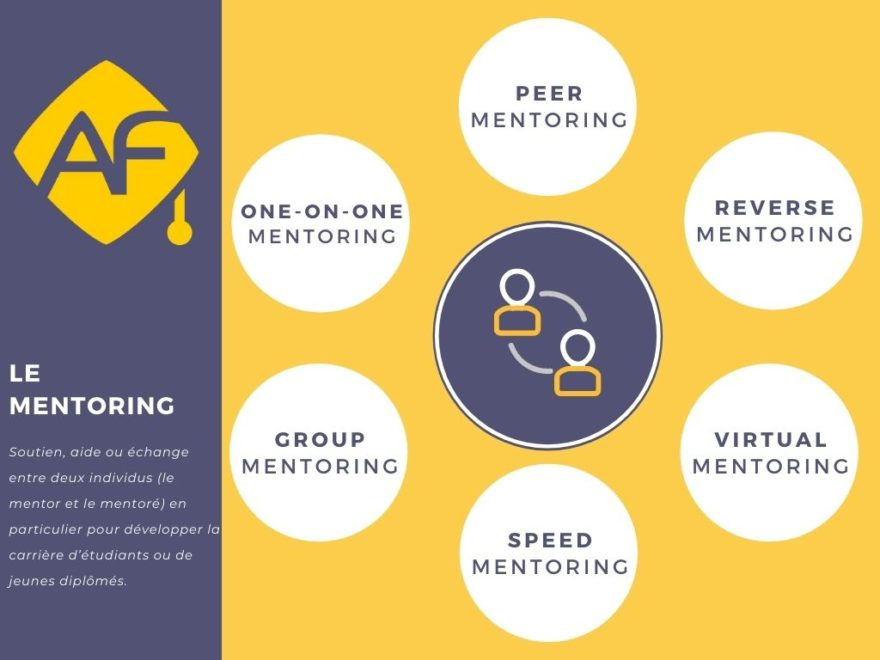 Mentoring Solution One on One, Peer Mentoring, Reverse mentoring, virtual mentoring AlumnForce