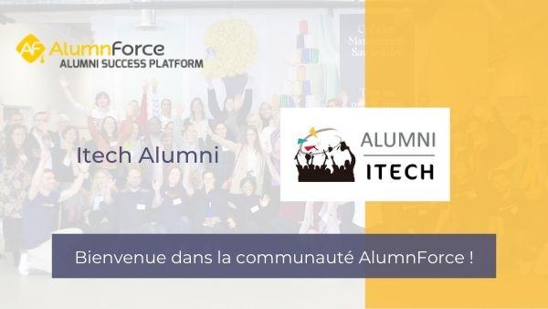 """Yassina coordinatrice de l'association Itech alumni : """" choisir AlumnForce a été une évidence"""""""