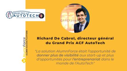 Grand prix ACF AutoTech : la nouvelle plateforme de mise en relation du monde de l'AutoTech