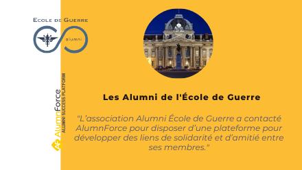 École de Guerre Alumni : L'association Alumni à taille humaine de l'école de Guerre