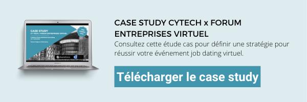 Case study CY Tech forum job dating virtuel AlumnForce