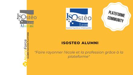 Isosteo alumni, le premier réseau alumni d'Isosteo Lyon