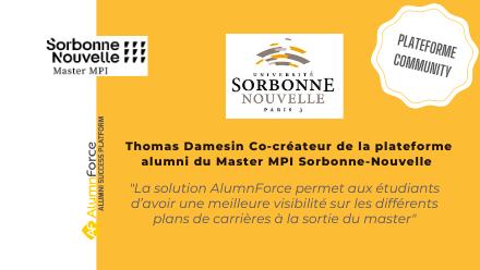 Master MPI – Sorbonne Nouvelle lance sa plateforme réseau-alumni
