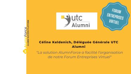 Forum Entreprises Virtuel : le retour d'expérience de l'UTC Alumni