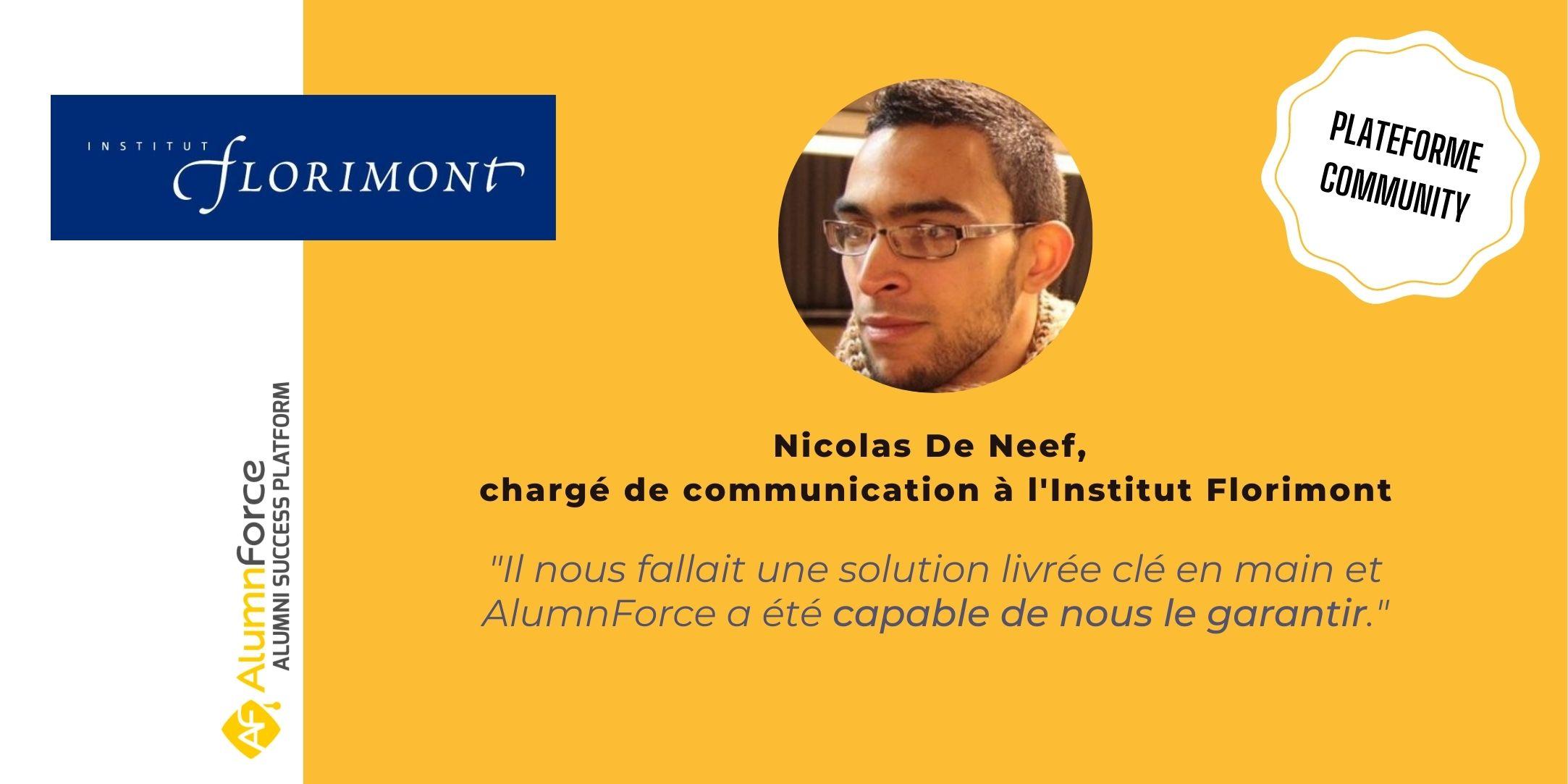 L'Institut Florimont prépare le lancement de sa toute première plateforme alumni