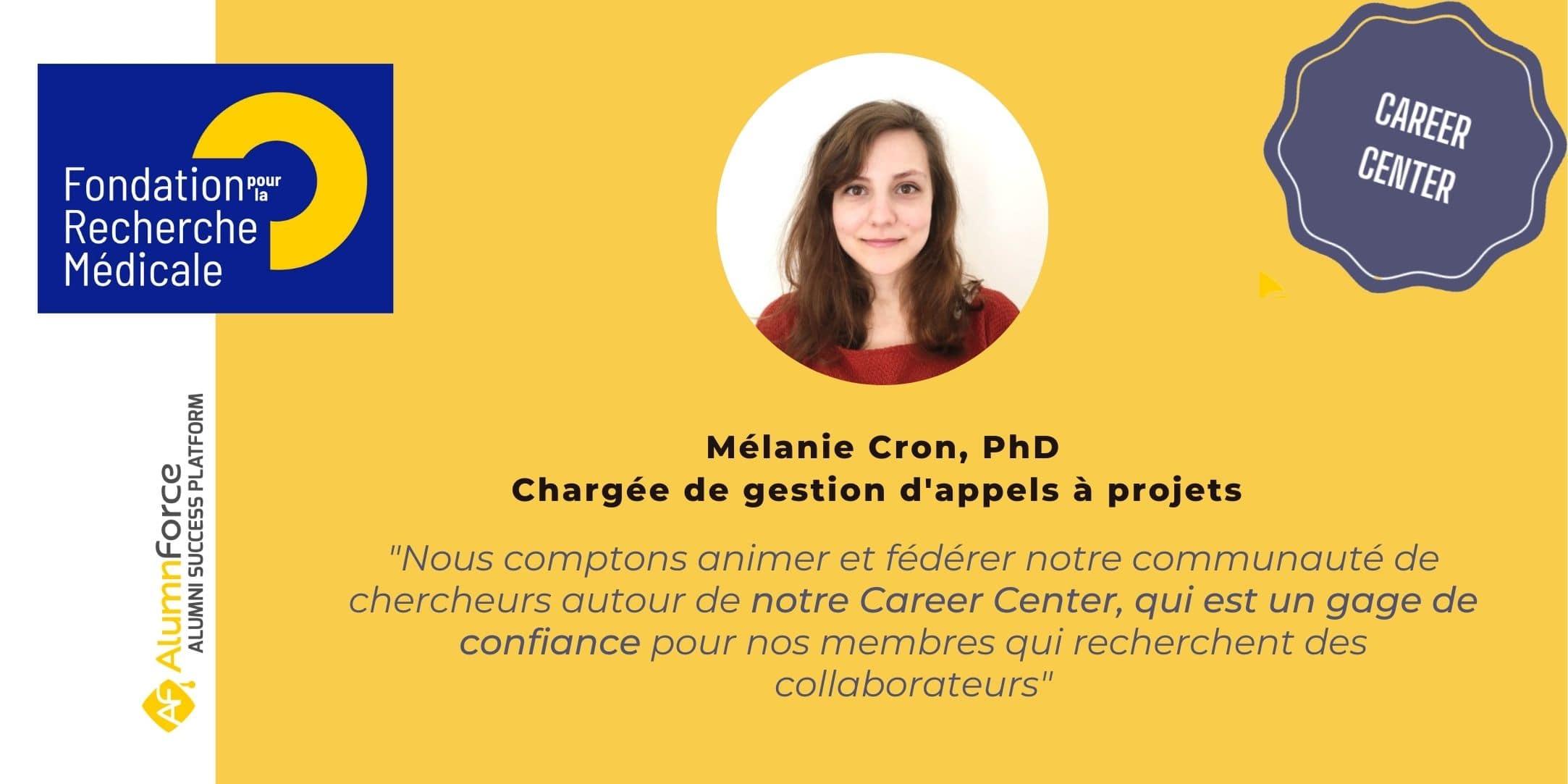 The Fondation pour la Recherche Médicale energizes the research sector thanks to its Career Center